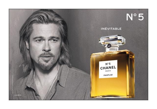 Chanel N°5: il video completo con Brad Pitt