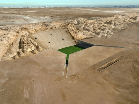 Rock Stadium: lo stadio nel deserto