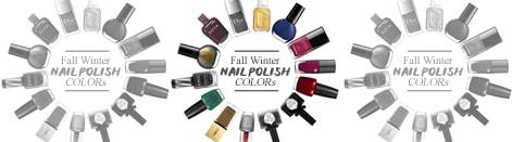 Fall Winter Nail Polish Colors