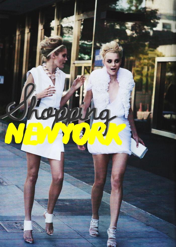 Shopping a New York
