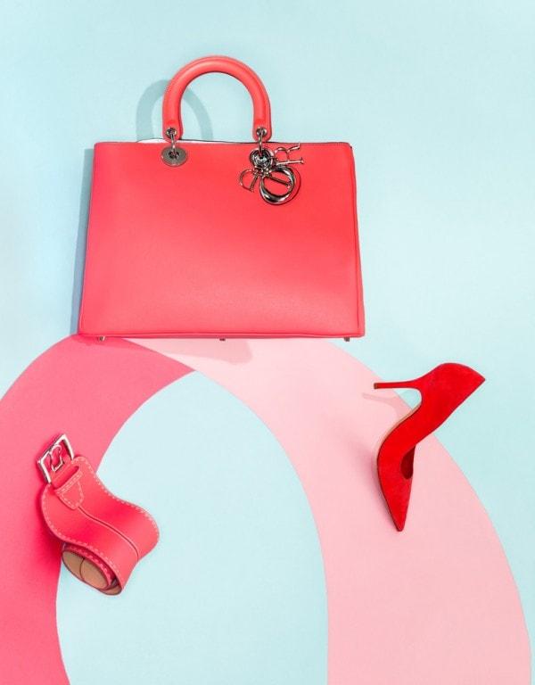 Vogue China, geometrie e colori bold