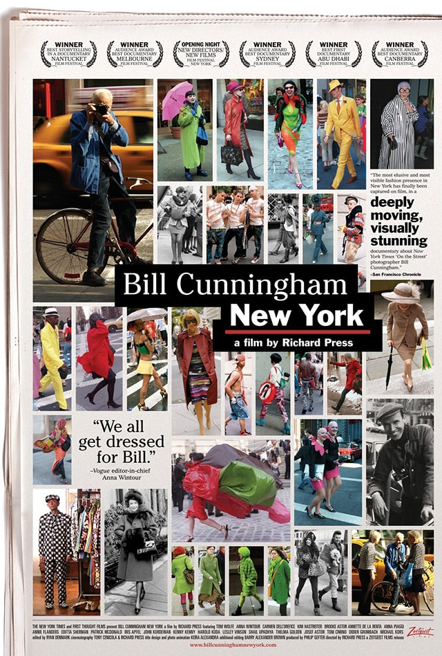Street style foto: Bill Cunningham
