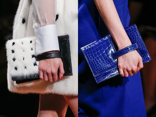 Paris fashion week: Chanel and Valentino handbags