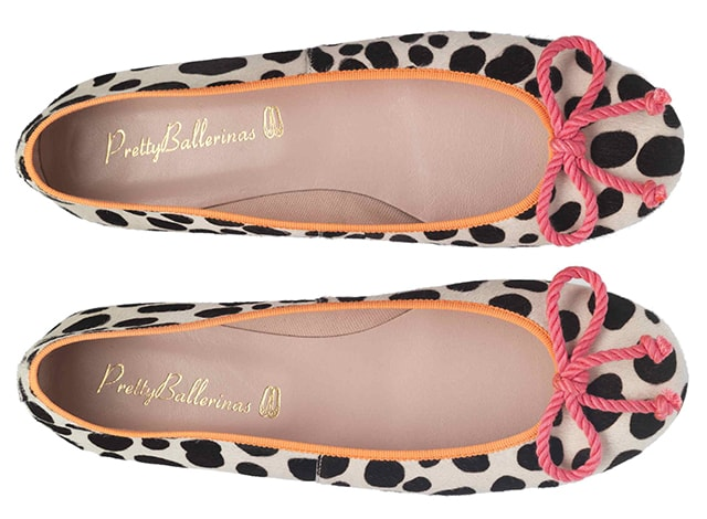 Pretty Ballerinas mixa animalier e colore per la primavera 2013