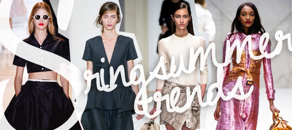Trend Spring Summer 2013: volant, print e veiled looks