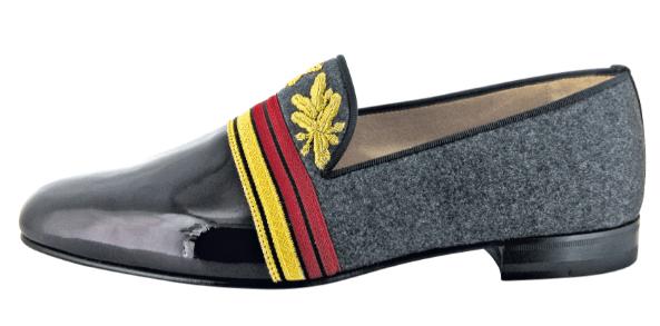 Christian Louboutin Officier Flat Floque