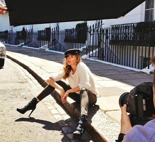 Gisele Bündchen (ancora) per H&M FW 2013