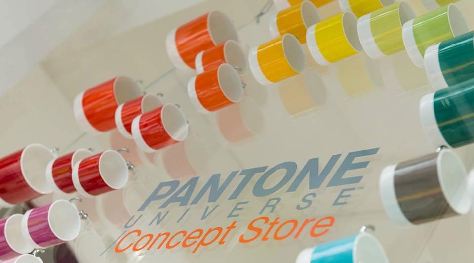 Pantone, il primo concept store è a Milano