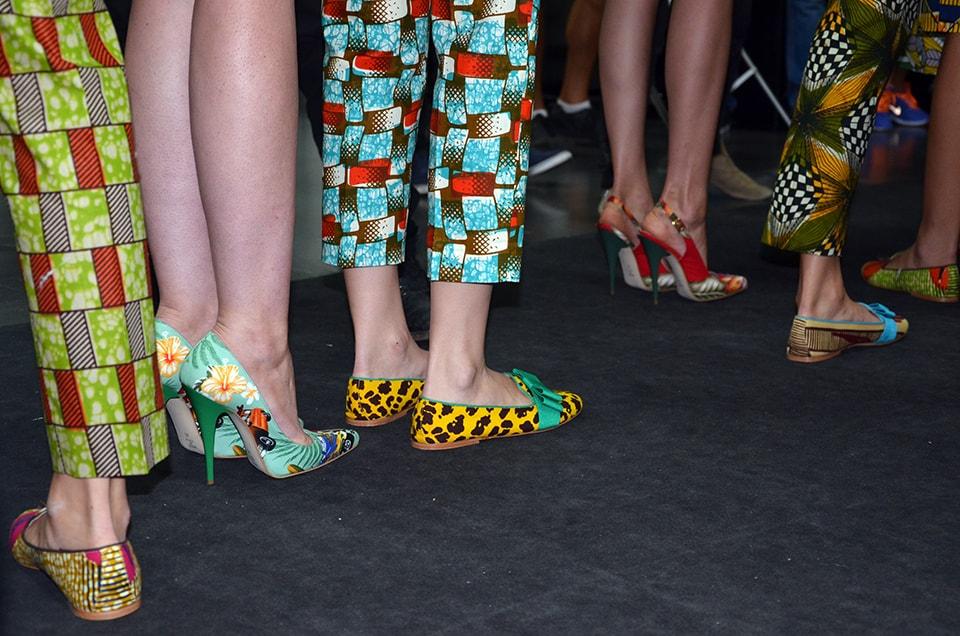 Milano Fashion Week: Stella Jean SS 2014 backstage