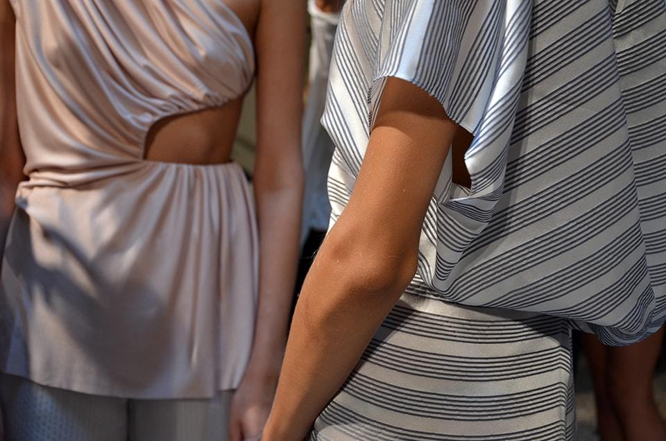 Milano Fashion Week: Angelos Bratis SS 2014 backstage