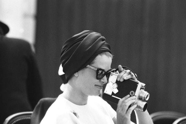 Grace Kelly Pringle of Scotland cashmere