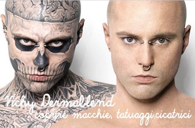 Dermablend Vichy, il makeup correttivo per coprire macchie, cicatrici, tatuaggi