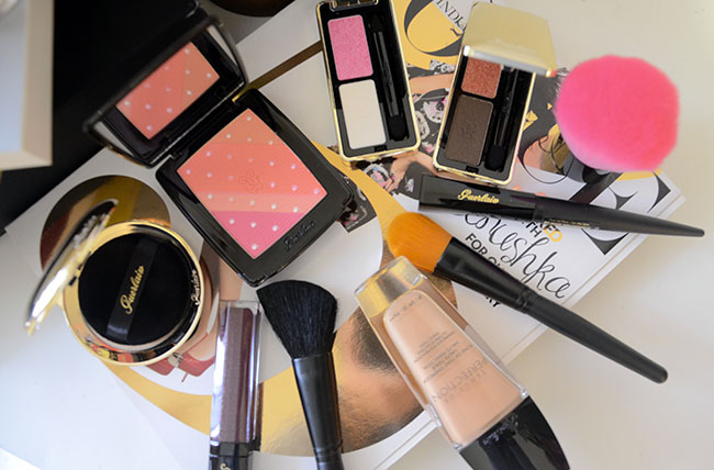 Guerlain makeup Violette 2013