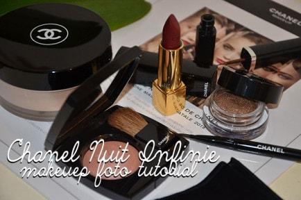 Chanel Nuit Infinie makeup capodanno 2013