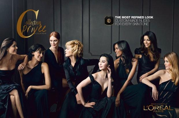 """""""Collection Privée"""", il makeup nude di Doutzen Kroes, JLo e Freida Pinto"""