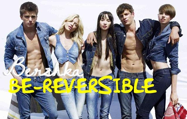 Be-Reversible di Bershka, la collezione double face