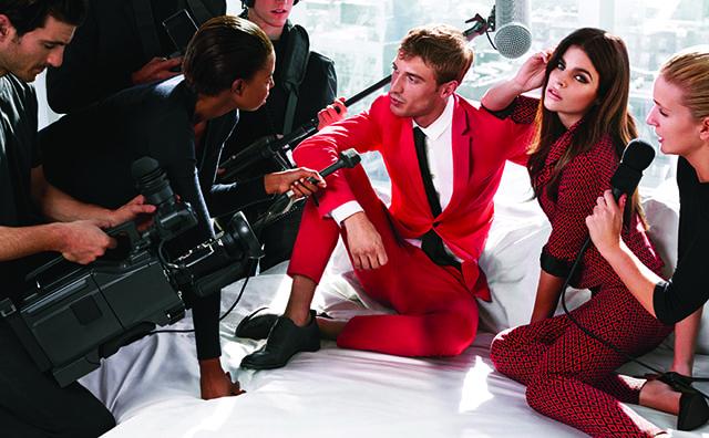 Sisley, la campagna pubblicitaria per la P/E 2014 con Julia Roitfeld e le foto di backstage