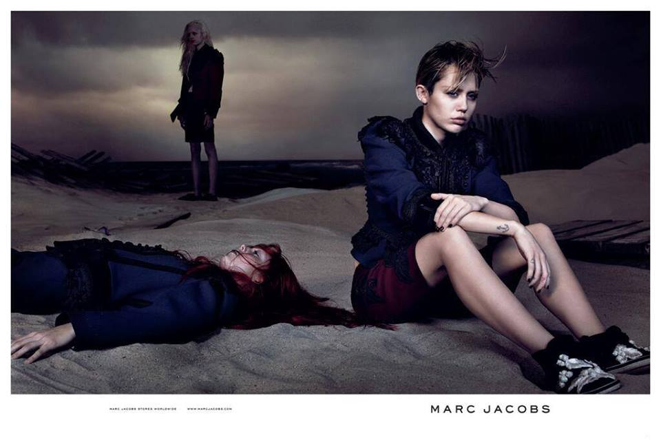 marc jacobs SS 2014 adv campaign miley cyrus