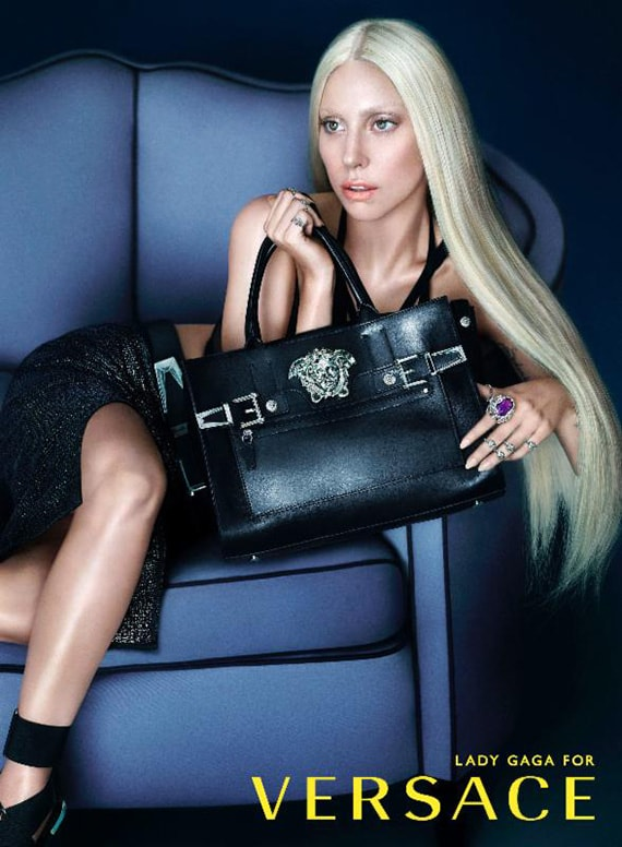 versace SS 2014 adv campaign