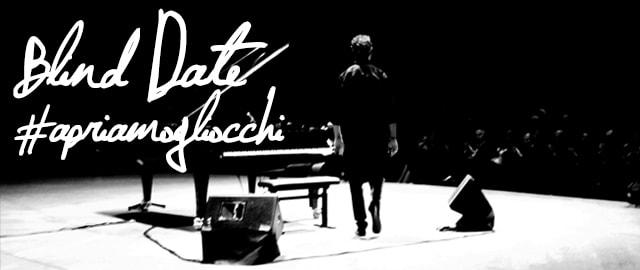 Blind Date, il concerto al buio di Cesare Picco con CBM Italia contro la cecità
