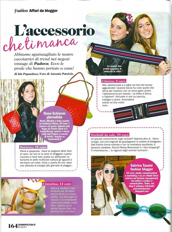 Cosmopolitan marzo 2012