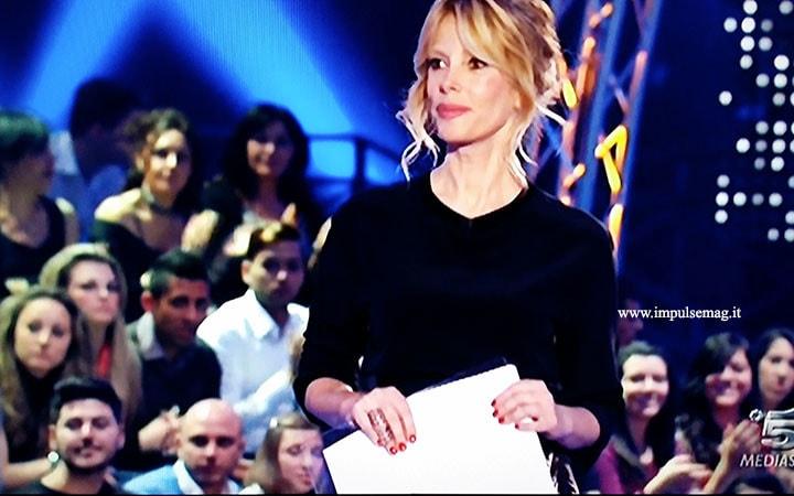 Alessia Marcuzzi, il look per la prima puntata del GF13