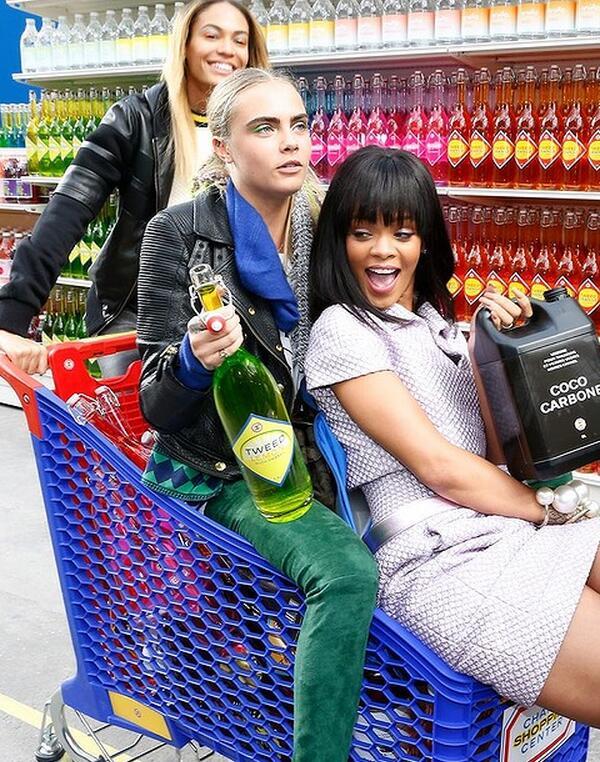 chanel supermarket 2014 grocery backstage