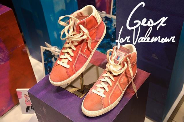 Geox for Valemour, la collezione limited edition in vendita da oggi online e in 250 negozi