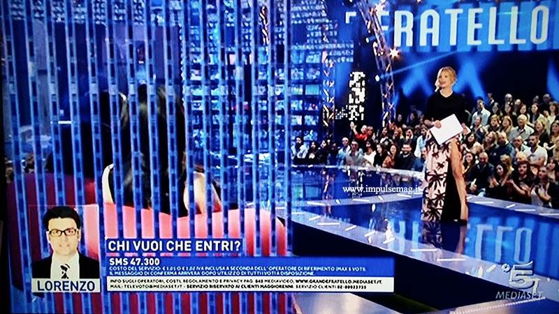 Alessia Marcuzzi look gf13 prima puntata 3 marzo 2014