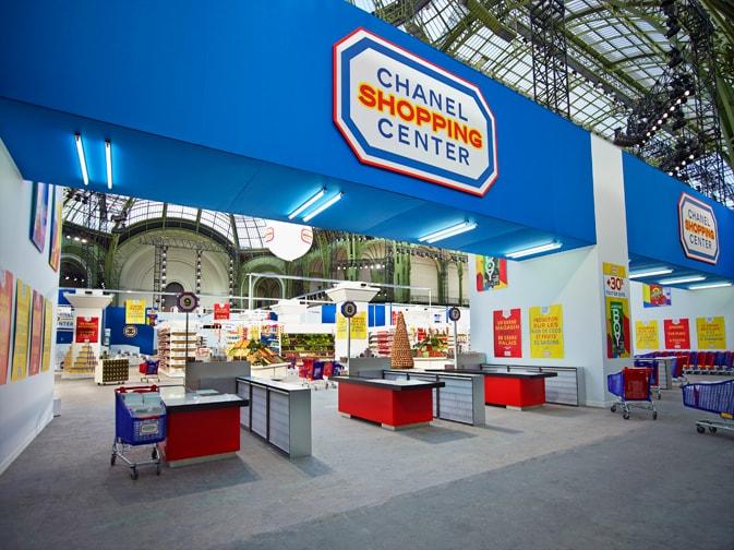 chanel supermarket 2014  backstage