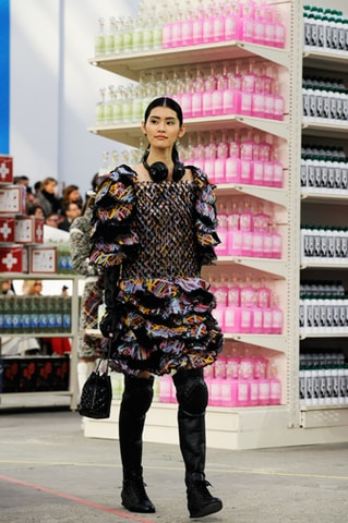 chanel supermarket 2014 grocery backstage