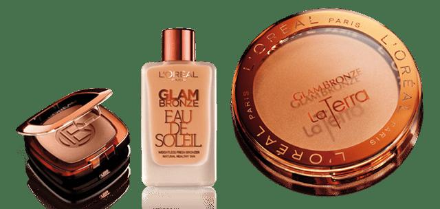 eau de soleil glam bronze l'oréal