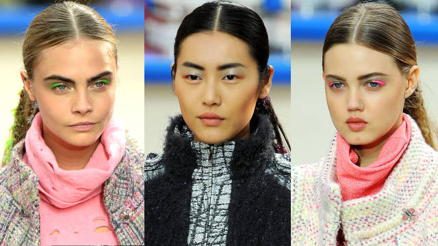 chanel supermarket 2014 makeup backstage