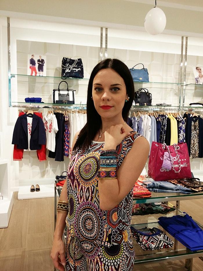 Camomilla Italia primavera estate 2014 outfit look Elena Schiavon