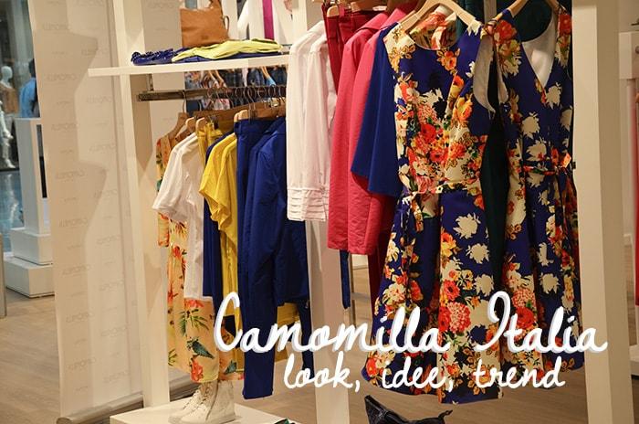 Camomilla Italia, alla scoperta della collezione primavera/estate 2014 alla Nave de Vero
