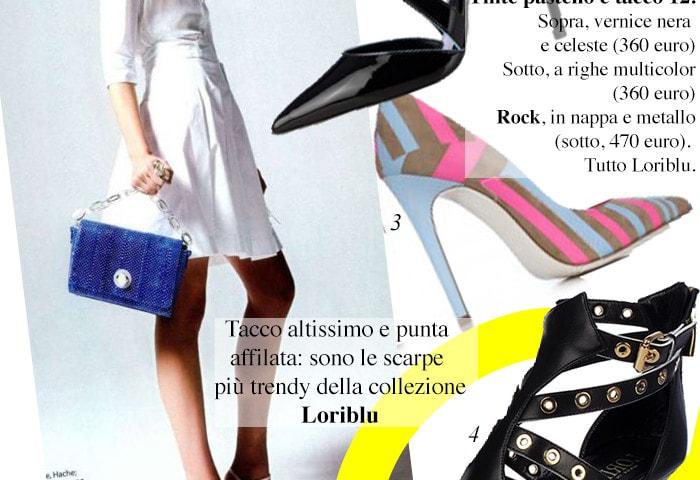 Loriblu, le pointy heels per la primavera/estate 2014