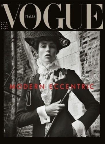 edie campbell vogue italia cover 2013