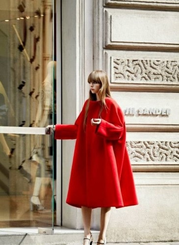 Edie Campbell modella 2014 YSL