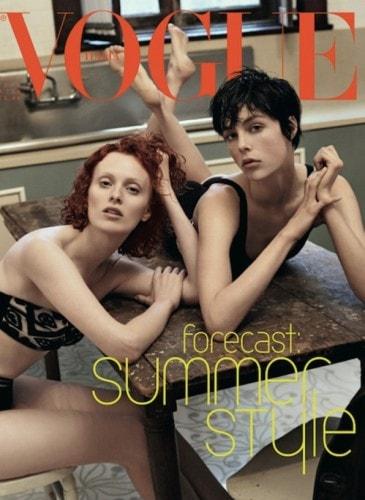 edie campbell vogue italia cover 2013