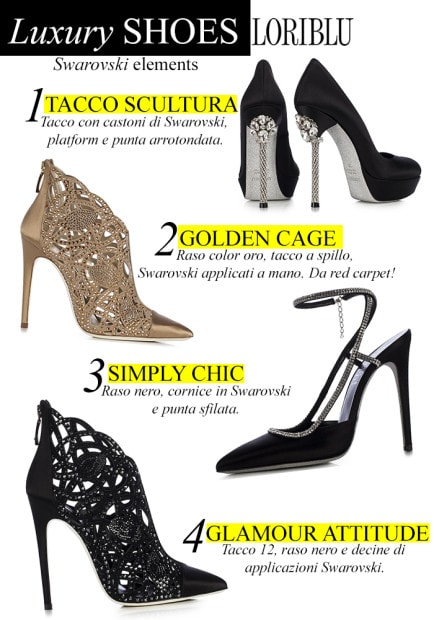 loriblu scarpe red carpet catalogo primavera estate 2014
