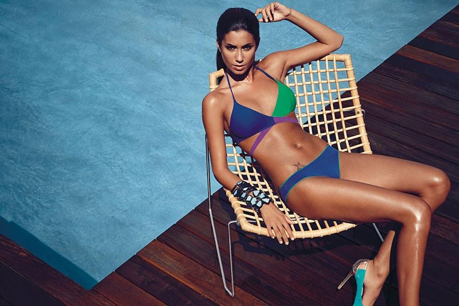 bikini blu verde godenpoint 2014