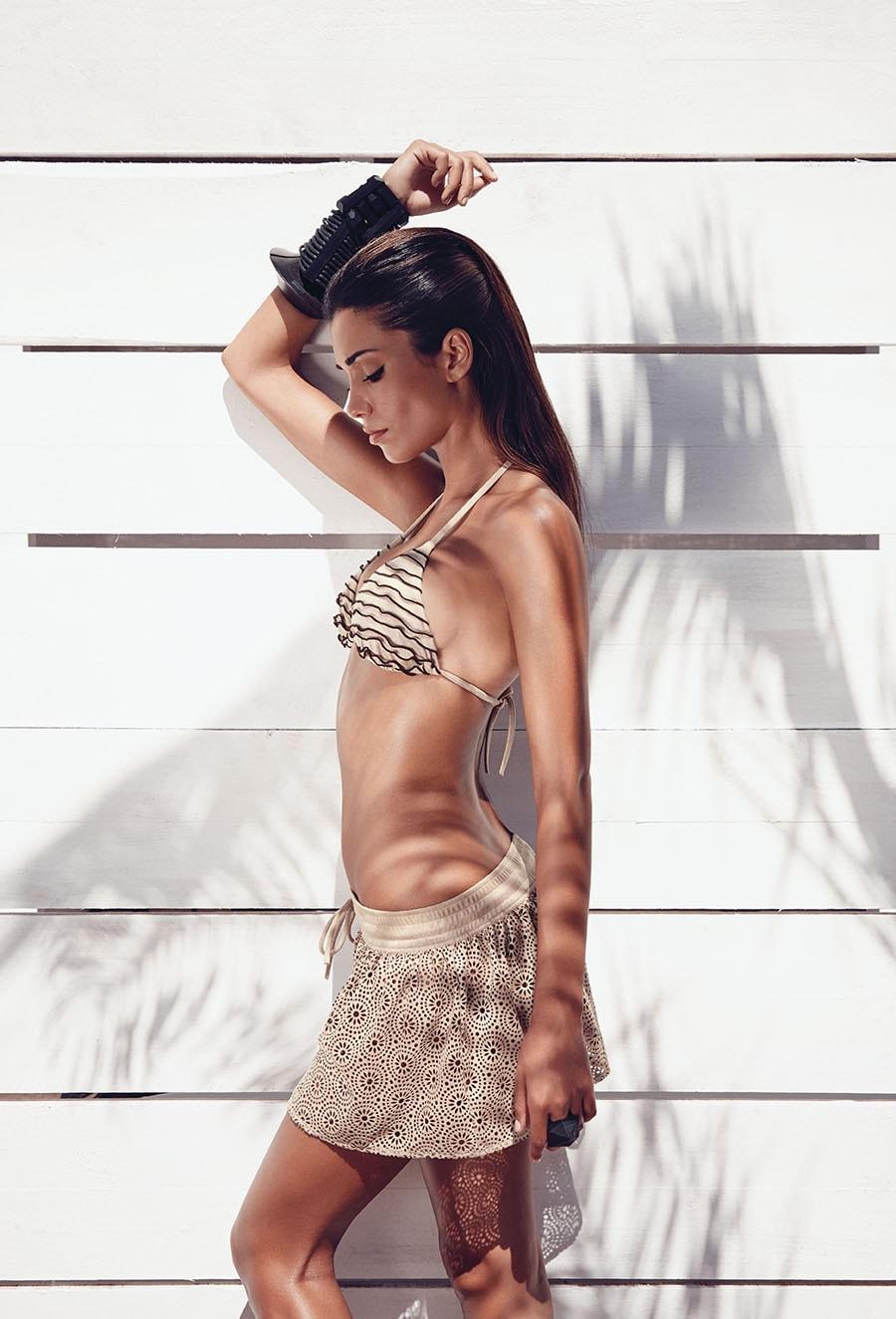 bikini nero profili colorati golde lady 2014
