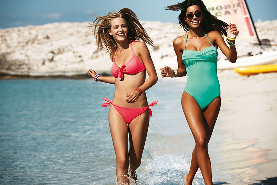curvy costumi intero bikini golde lady 2014