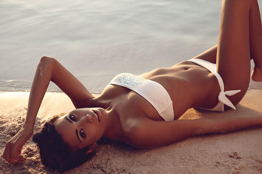 fascia bikini bianco goldenpoint 2014