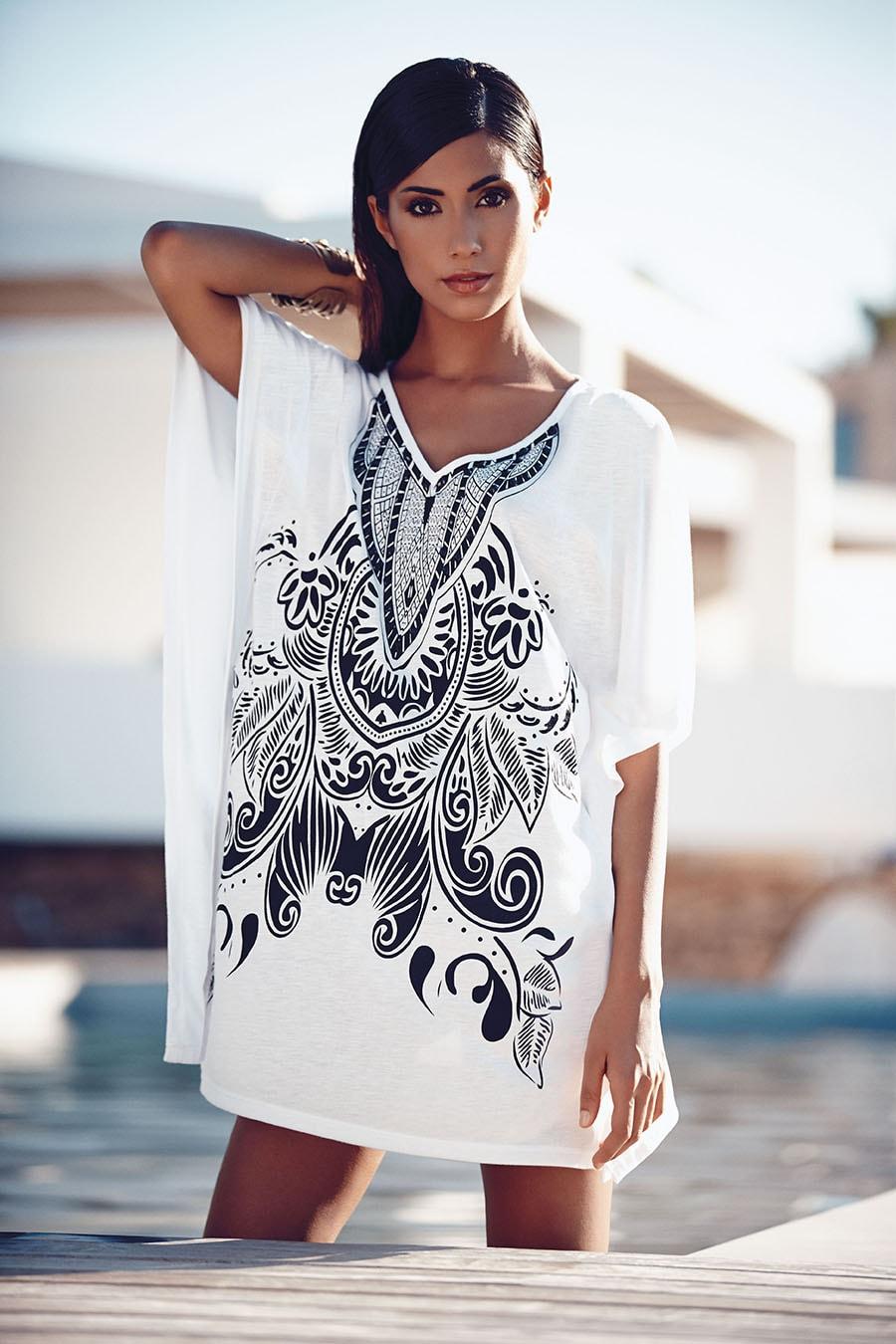 vestitino mare bianco goldepoint 2014