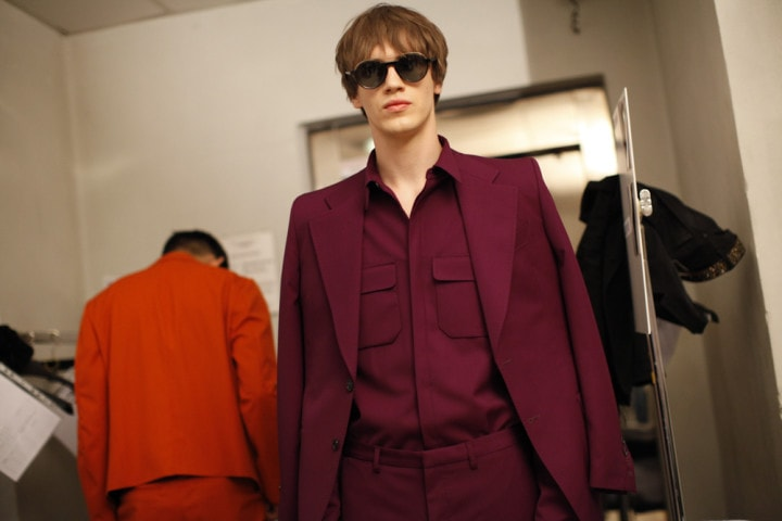 Costume National Homme Spring/Summer 2015 backstage