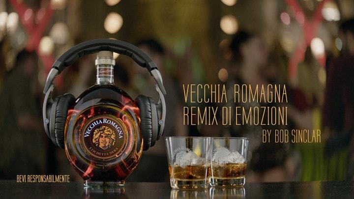 Vecchia Romagna e Bob Sinclar insieme per un inedito remix di emozioni (e un concorso per vincere Ibiza!)