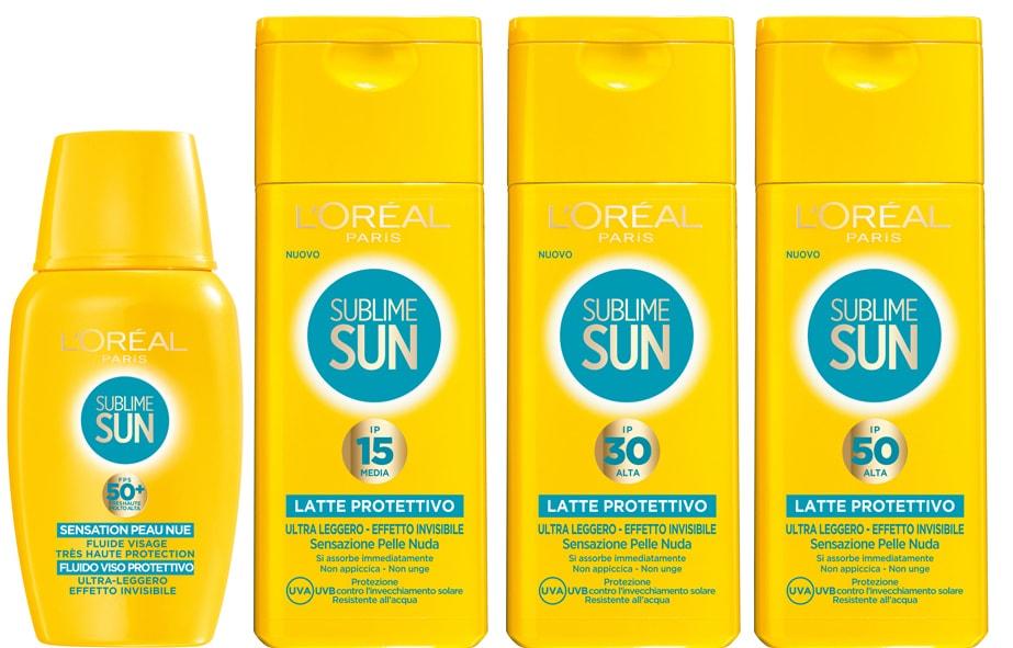 reaview l'oréal paris sun sublime solari estate 2014