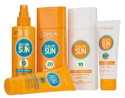 reaview l'oréal paris sun sublime solari estate 2014