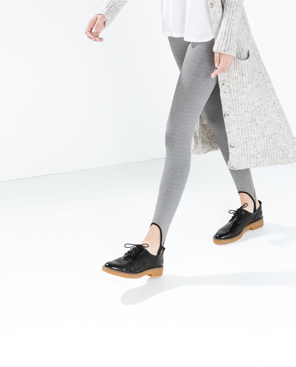 leggings fouseaux zara trend inverno 2014